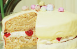 Raspberry and Lemon Easter Cake