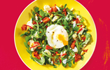 Rocket and Poached Egg Salad