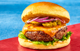 Chilli Cheddar Steak Burger
