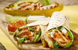 Lime, Coriander and Ginger Chicken Fajitas