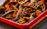 Mussel and Chorizo Bake