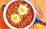 Bean Fried Eggs
