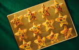Cheese and Rosemary Stuffed Pastry Stars