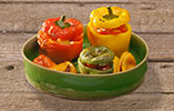 Wonky Stuffed Peppers