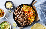 Beef Fajitas with Sweetcorn Salsa