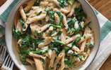 Goats Cheese & Spinach Protein Penne Pasta