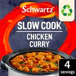 Schwartz Slow Cookers Chicken Curry Recipe Mix