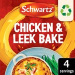 Schwartz Chicken & Leek Bake Recipe Mix