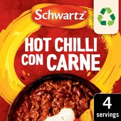 Schwartz Hot Chilli con Carne Recipe Mix