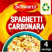 Schwartz Spaghetti Carbonara Recipe Mix