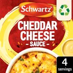 Schwartz Cheddar Cheese Sauce Mix