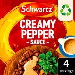 Schwartz Creamy Pepper Sauce Mix