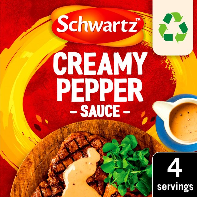 Morrisons: Schwartz Creamy Pepper Sauce Mix 25g(Product Information)