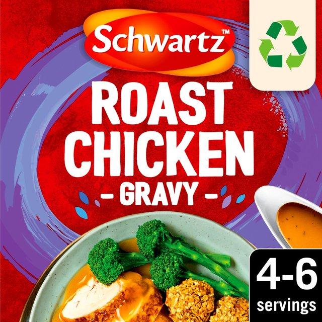 Morrisons: Schwartz Classic Roast Chicken Gravy 26g(Product ...