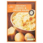 Morrisons Instant Cheese & Onion Mash