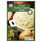 Morrisons Instant Bubble & Squeak Mash