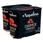 Napolina Chopped Tomatoes (4x400g)