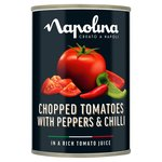 Napolina Chopped Tomatoes with Pepper & Chilli