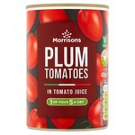 Morrisons Peeled Plum Tomatoes