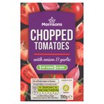 Morrisons Chopped Tomatoes with Garlic & Onion