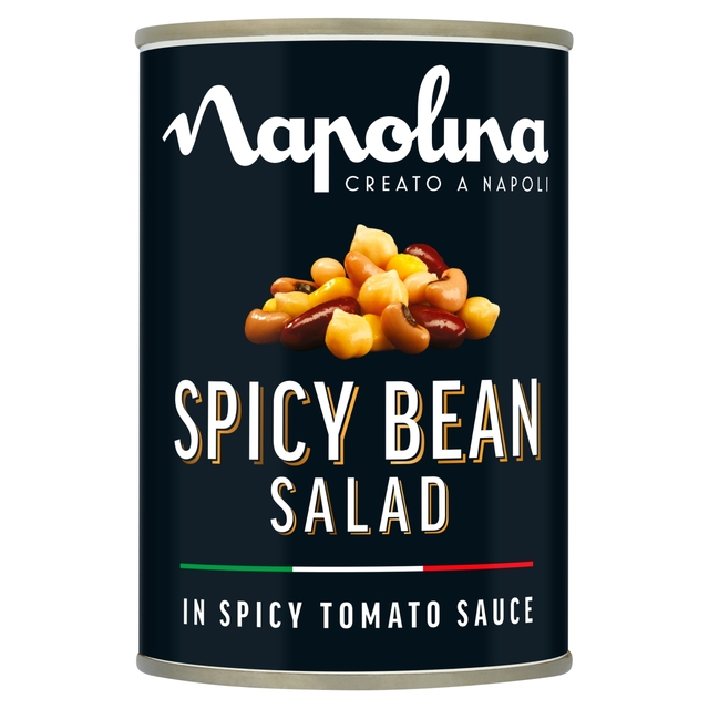 Morrisons: Napolina Spicy Bean Salad 400g(Product Information)