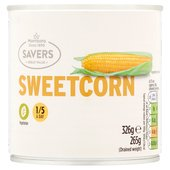Morrisons Savers Sweetcorn in Water
