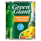 Green Giant Sweetcorn With Peppers (198g)