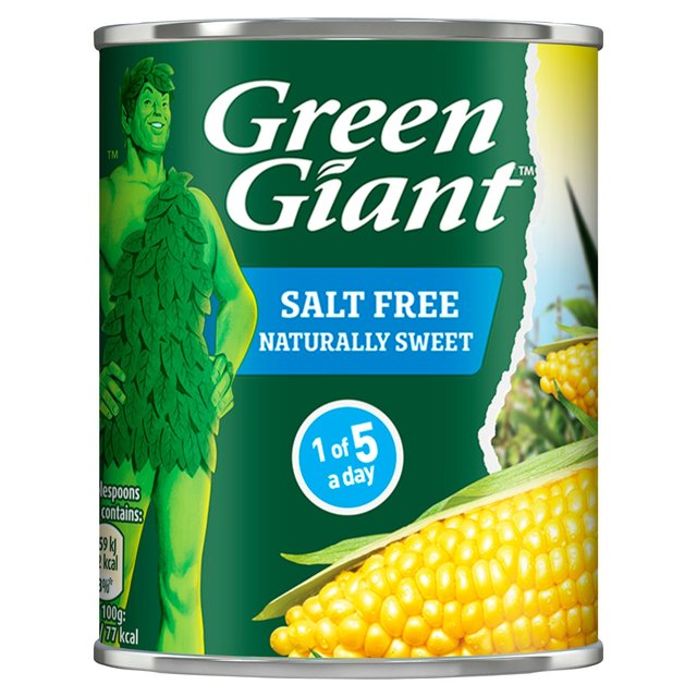 Green Giant Salt Free Sweetcorn (198g)