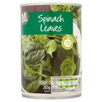 Morrisons Spinach Leaves (380g)