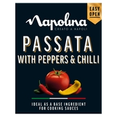 Napolina Passata with Peppers & Chilli