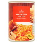 Morrisons Spaghetti Loops in Tomato Sauce