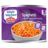 Weight Watchers from Heinz Spaghetti in Tomato Sauce with Parsley