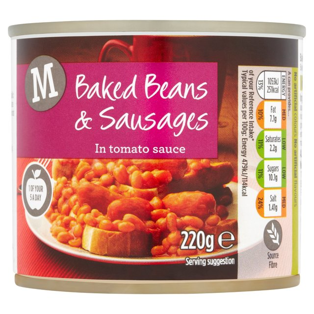 Morrisons: Morrisons Baked Beans & Sausages in Tomato ...