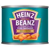 Heinz Beanz and Pork Sausages