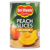 Del Monte Peach Slices in Juice (415g)