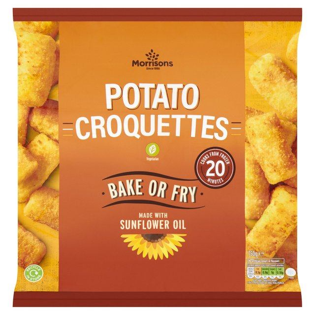 Morrisons: Morrisons Potato Croquettes 750g(Product Information)