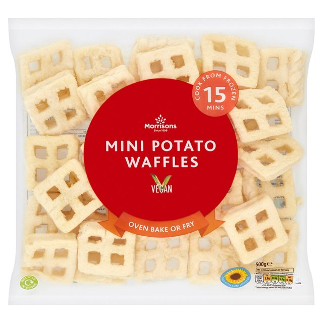 Morrisons: Morrisons Mini Potato Waffles 500g(Product ...