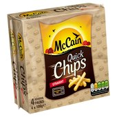 McCain Microwave Quick Chips Straight Cut