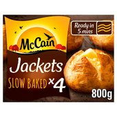 Mccain Frozen Baked Jacket Potatoes 4 Pack