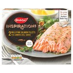 Birds Eye Inspirations 2 Salmon Fillets In a Lemon & Dill Sauce