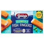 Young's Omega 3 Fish Fingers 10 Pack