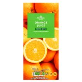 Morrisons Orange Juice with Bits From Concentrate