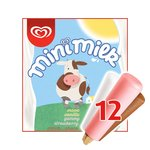 Mini Milk Vanilla, Strawberry & Chocolate Ice Cream Lollies