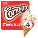 Cornetto Strawberry Ice Cream Cones