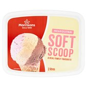 Morrisons Neapolitan Ice Cream