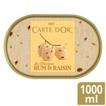 Carte D'or Classics Rum & Raisin Ice Cream Dessert