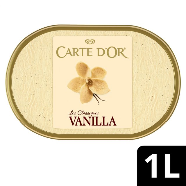 Carte D'Or Classics Madagascan Vanilla Ice Cream Dessert