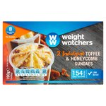 Weight Watchers Toffee & Honeycomb Sundaes
