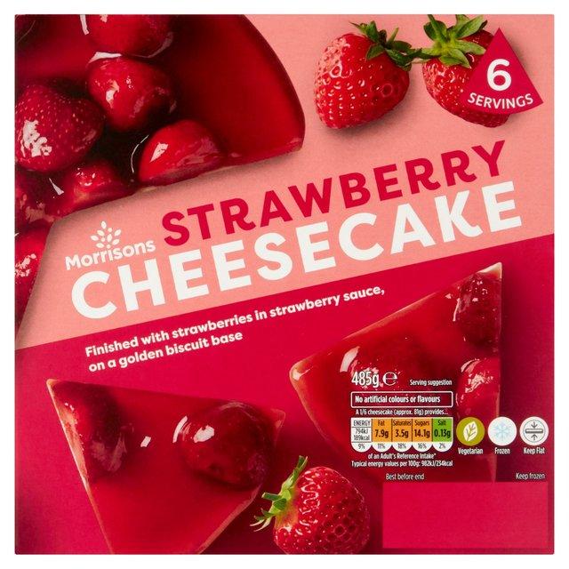 Modified strawberry cheesecake?