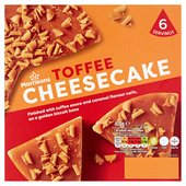 Morrisons Toffee Cheesecake